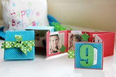 How to make a Mini Birthday Album...in a box!