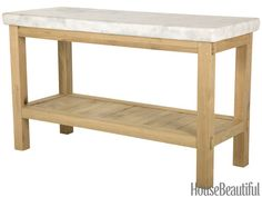 9 Freestanding Kitchen Islands for Every Style White Oak and Marble Kitchen Island 9 Freestanding Ki Moveable Kitchen Island, Marble Top Kitchen Island, Kitchen Island Table, Kitchen Tops, Kitchen Islands, Free Standing Kitchen Island, Kitchen Trolley, Kitchen Stuff, Kitchen Prep Table