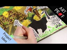 Art Prof is a free, online educational platform for visual arts for people of all ages and means. Created by RISD Adjunct Professor Clara Lieu and Thomas Ler. Collage Drawing, Mixed Media Collage, Visual Arts, Art Techniques, Art Tutorials, Professor, Platform, Education, People
