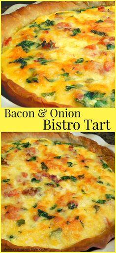 Bacon & Onion Bistro Tart