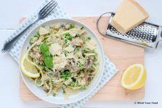 Bloemkool risotto met kastanjechampignons - Mind Your Feed