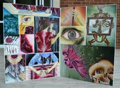 Level 2 NCEA Folio Boards - Painting, Jessica Willemse