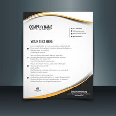 [ Free Letterhead Templates Available Psd Word Amp Pdf Formats Modern Vector Art Graphics Freevector ] - Best Free Home Design Idea & Inspiration Company Letterhead Template, Letterhead Sample, Letterhead Format, Free Letterhead Templates, Letterhead Design, Creative Resume Templates, Templates Free, Design Templates, Sample Resume