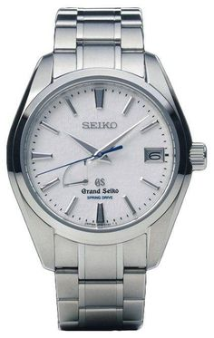 Grand Seiko Watch Spring Drive Snowflake #bezel-fixed #bracelet-strap-titanium #brand-grand-seiko #case-depth-12-5-mm #case-material-titanium #case-width-41-mm #clasp-type-hidden-folding-clasp #date-yes #delivery-timescale-call-us #dial-colour-silver #gender-mens #http-youtu-be-_ytpdlotbi4 #luxury #movement-spring-drive #official-stockist-for-grand-seiko-watches #packaging-grand-seiko-watch-packaging #power-reserve-yes #subcat-spring-drive #supplier-model-no-sbga011j…