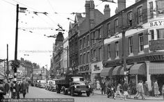 Reading, Broad Street 1954, from Francis Frith