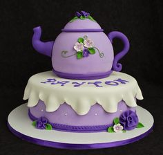 Cake Blog: Teapot Cake Tutorial