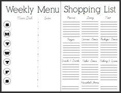 7 Essential Menu Planning Tips and Free Menu and Recipe Printable