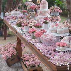 A garden themed bridal shower