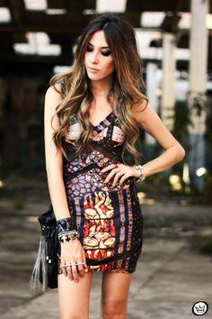 FashionCoolture - 12.08.2013 look du jour Labellamafia dress (2)