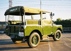 1949 Land Rover Series 1 For Sale Rear