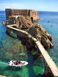ST John the Baptist fort in Berlenga Island Portugal #beautiful #places to #visit