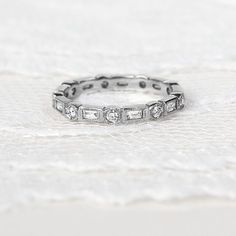 Your wedding band is the deepest expression of love and commitment to each other. Choose it with care.  @doyleanddoyle Wedding Bands, Silver Rings, Jewelry, Jewellery Making, Jewelery, Wedding Band Ring, Jewlery, Jewels, Jewerly