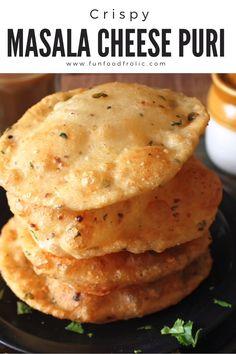 Puri Recipes, Pakora Recipes, Paratha Recipes, Chaat Recipe, Spicy Recipes, Snacks Recipes, Indian Dessert Recipes, Healthy Indian Recipes, Indian Foods