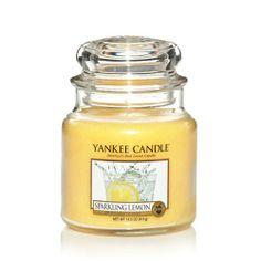 Yankee Candle  Sparkling Lemon Housewarmer Jar
