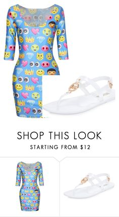 """emoji"" by tamstreeter ❤ liked on Polyvore featuring MICHAEL Michael Kors"