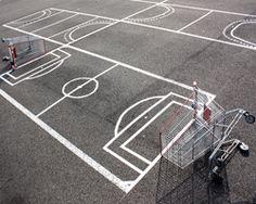 aburridos en el parking