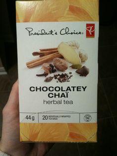 My new favourite tea - tastes exactly like chocolate, without the guilt. Tea Brands, Like Chocolate, Tea Box, Herbal Tea, Chai, Herbalism, Image, Herbal Medicine, Tea Caddy
