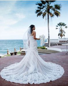 13dc95f0f1c57 Destination Beach Wedding in San Carlos, Mexico / Bride wearing Calla  Blanche 17109 Wedding Gown