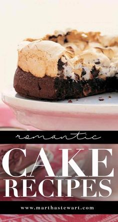 Romantic Cake Recipes | Martha Stewart Living