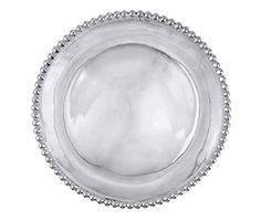 String of Pearls Round Platter