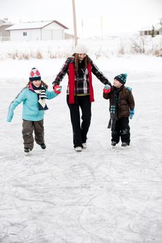 Make #OneSimpleChange to get active by exercising outside during the winter! #Skating #WinterSports