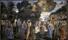 Descent for Mount Sinai, Sistine Chapel, Rome, Italy