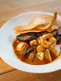 Bouillabaisse From Chef David Myers of Comme Ca and Pizzeria Ortica in Southern California; SOLA and David Myers Cafe in Tokyo; Comme Ca at The Cosmopolitan of Las Vegas