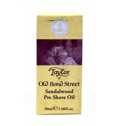 FREE UK DELIVERY. Taylor of Old Bond Street Sandalwood Pre Shave Oil 30ml in stock now only £12.95.