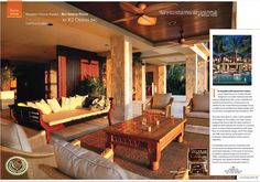 Design Bali style home wins Best Interior Design Award for 2012 Interior Design Awards, Residential Interior Design, Interior Design Companies, Luxury Interior Design, Bali Style Home, Bali House, Tropical Houses, Traditional House, Architecture Design