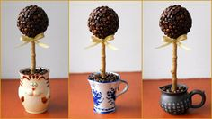 Coffee Beans Centerpiece Ideas, 25 Crafts for Table Decoration
