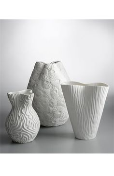 jonathan adler vases...I collect his white sculptures/animals, these would be a perfect addition to my collection!