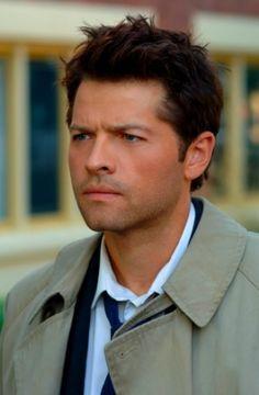 Misha Collins, as Castiel in Supernatural