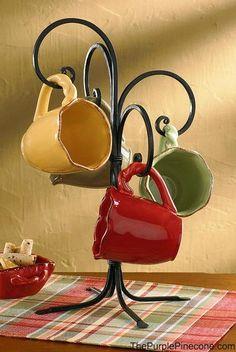 Counter Top Iron Mug Holder - Park Designs