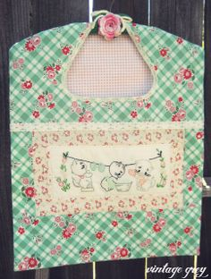 Well, my new vintage inspired embroidery kitchen flour sack tea towels and pot holders are finally here, along with so. Vintage Embroidery, Cross Stitch Embroidery, Embroidery Patterns, Hand Embroidery, Sewing Patterns, Machine Embroidery, Fabric Crafts, Sewing Crafts, Sewing Projects