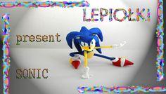TUTORIAL: Sonic jeż polymer clay made hand lepiołki hedgehog PART 1SONIC THE HEDGEHOG