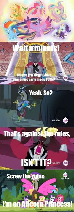 Discord: The Princess of Hax - Cheezburger, when ponies meets pokemon