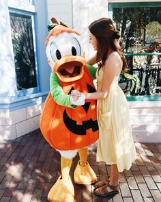 Happy Halloween from Pumpkin Donald and I✨ What are you dressing up as tonight? Disneyland Outfits, Disneyland Trip, Disney Outfits, Disney Trips, Disney Parks, Disney Pixar, Walt Disney, Disney Characters, Disneyland Photos