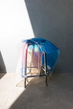 In the stairs / Gradient in Silicone & Stools / March 2012