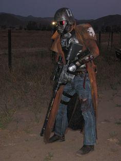Cinder Houghton: NCR Veteran Ranger from Fallout New Vegas in Otaku House Cosplay Idol 2012