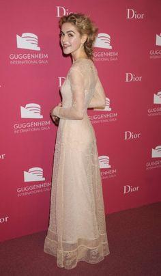 Kiernan Shipka in Dior