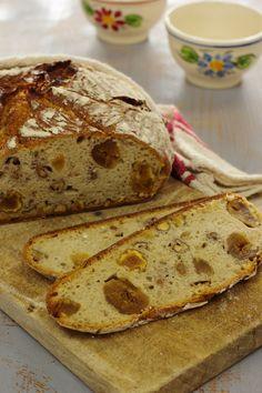 Cinco Quartos de Laranja: Vamos fazer Pão: Pão com figos secos e nozes