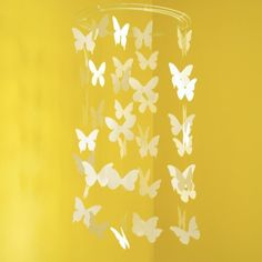 Butterfly Mobile Paper Mobile by Avis and Iris - modern - mobiles - - by Etsy