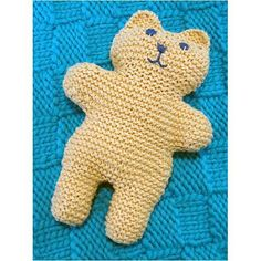 Fast-Finish Teddy by Lynn DT Hershberger I developed this pattern for an event at Schuler Books. The event supported Lansing Comfort Bears, a local effort to put stuffed animals in police cruisers in the event a child is in a traumatic situation. Free Baby Patterns, Knitting Patterns Free, Crochet Patterns, Crochet Ideas, Baby Scarf, Arm Knitting, Knitting Toys, Christmas Knitting Patterns, Plymouth Yarn
