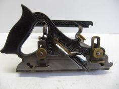 RARE Type 1 Stanley No 141 Plow Plane Filletster Bed Cutters Original Box | eBay