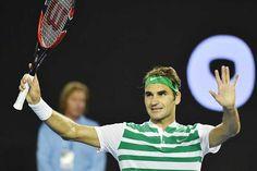 Roger Federer races into Australian Open quarters with... #RogerFederer: Roger Federer races into Australian Open quarters… #RogerFederer