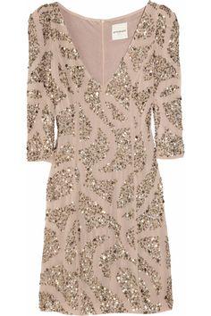 Antik Batik Lisa sequin-embellished crepe dress - 65% Off Now at THE OUTNET