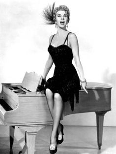 """""""Love Me or Leave Me""""  ---Doris Day in '10 Cents A Dance' costume"""