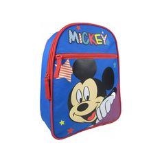 Rugzak Mickey Mouse  31 cm voor kinderen. Afmetingen: ongeveer 31 x 24 x 13 cm. Materiaal: nylon.