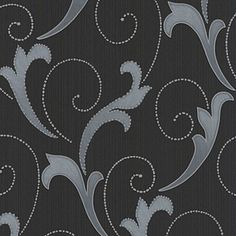 Charcoal Serenata Wallpaper Homebase