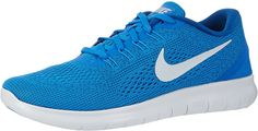 Nike Free RN Soar/Pure Platinum/Blue Glow/Team Royal Mens Running Shoes * Be sure to check out this awesome product-affiliate link. Pure Platinum, Running Shoes For Men, Mens Running, Nike Men, Sneakers Nike, Athletic, Design, Flexibility, Link
